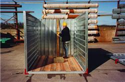 surenkami konteineriai surinkimas